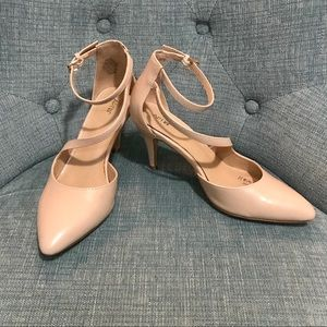 Apt. 9 Nude Heels with Pointed Toe
